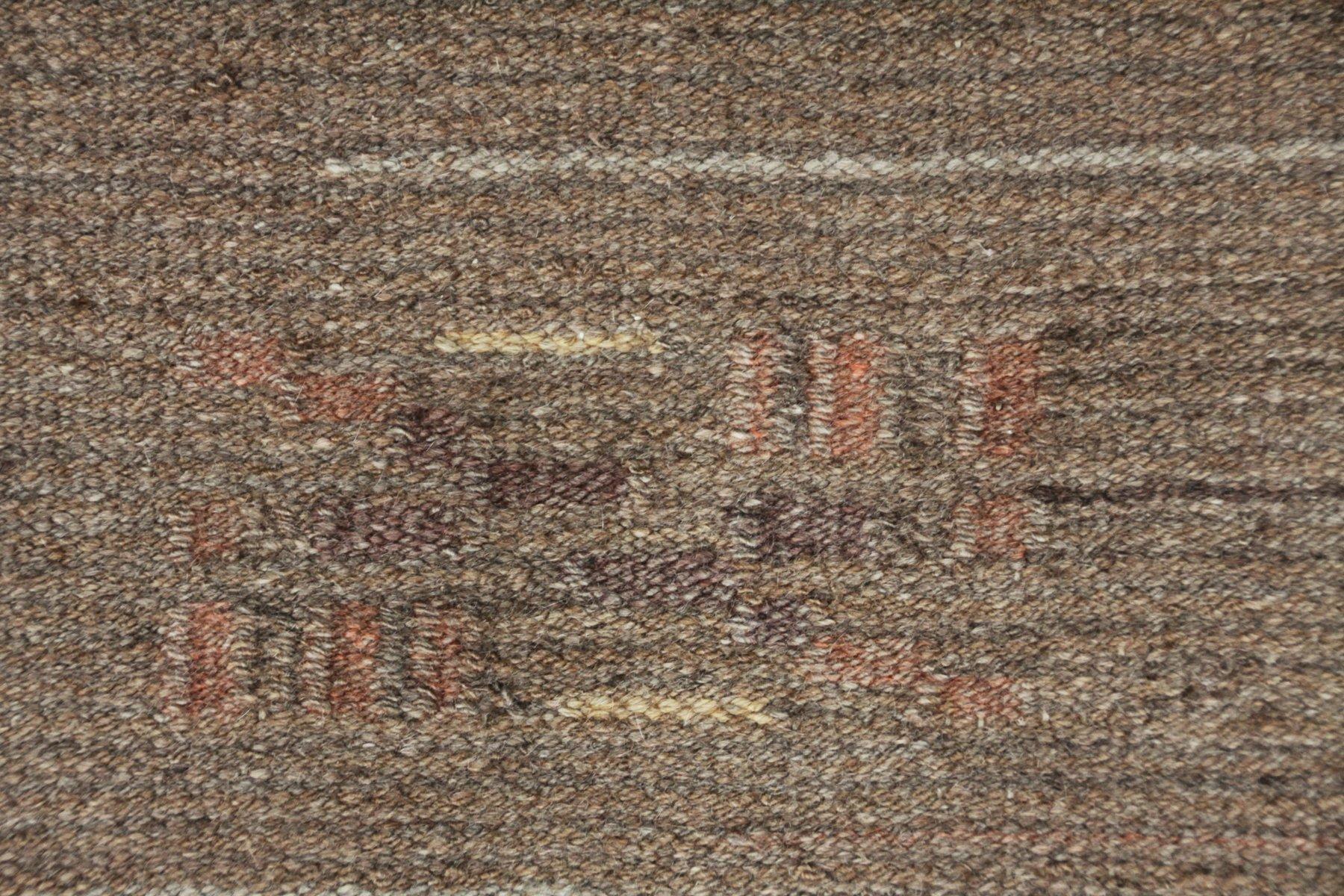 finnischer art deco flachgewebe teppich 1930er bei pamono. Black Bedroom Furniture Sets. Home Design Ideas