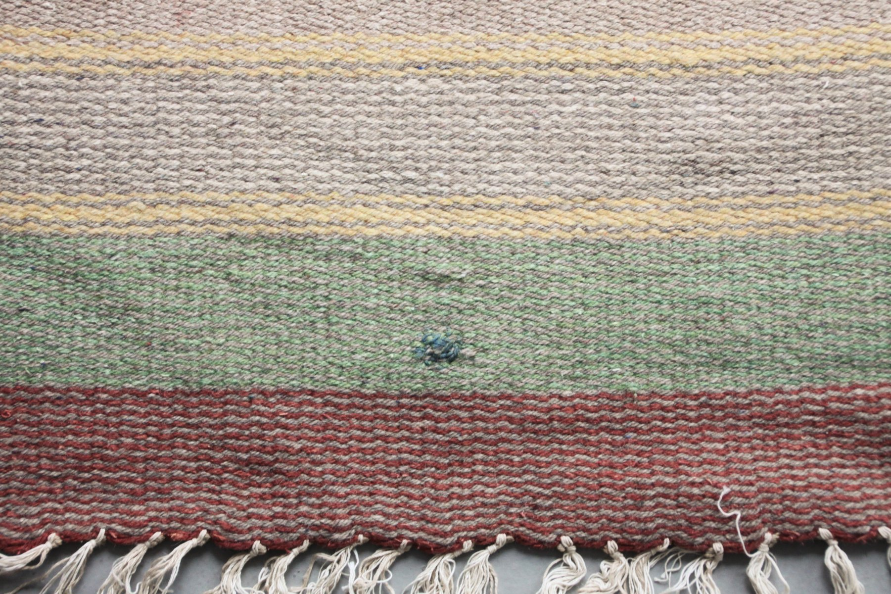 finnischer flachgewebe art deco teppich 1930er bei pamono. Black Bedroom Furniture Sets. Home Design Ideas