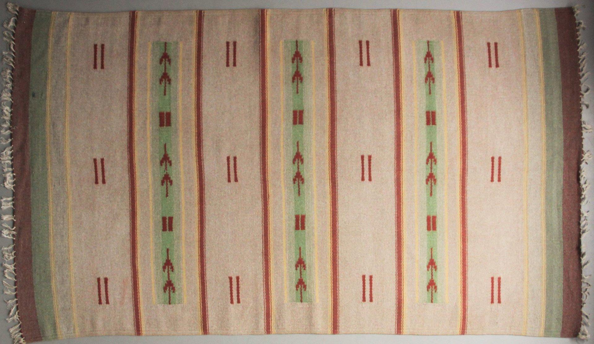Finnischer flachgewebe art deco teppich 1930er bei pamono - Art deco teppich ...