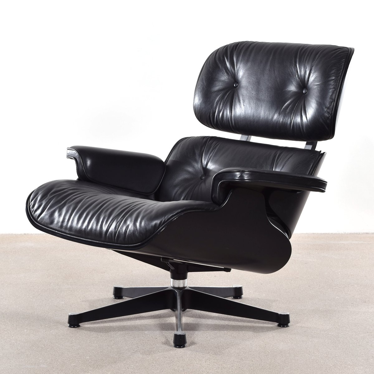 Vitra Lounge Chair Eames german lounge chair by charles eames for vitra 1988 for sale