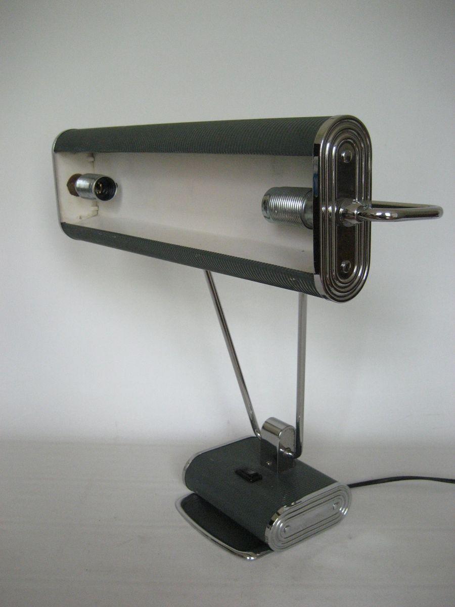 franz sische art deco tischlampe von eileen gray f r jumo bei pamono kaufen. Black Bedroom Furniture Sets. Home Design Ideas