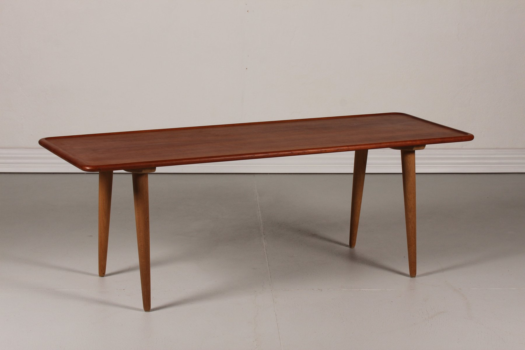 teak coffee table. danish at 11 teak coffee table by hans j. wegner for andreas tuck, 1950s sale at pamono a