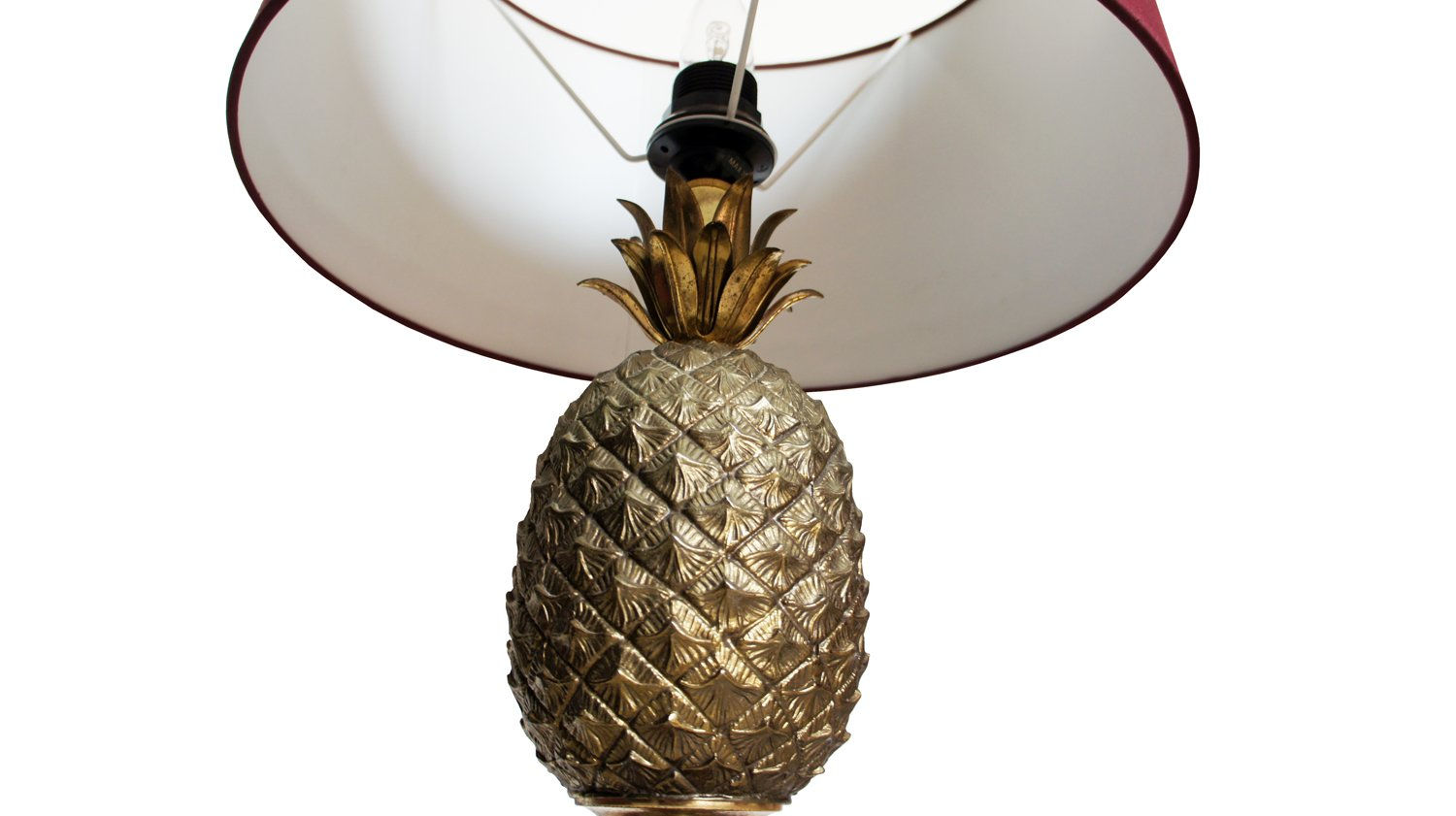 Mid century pineapple table lamp by mauro manetti en venta en pamono mid century pineapple table lamp by mauro manetti aloadofball Images