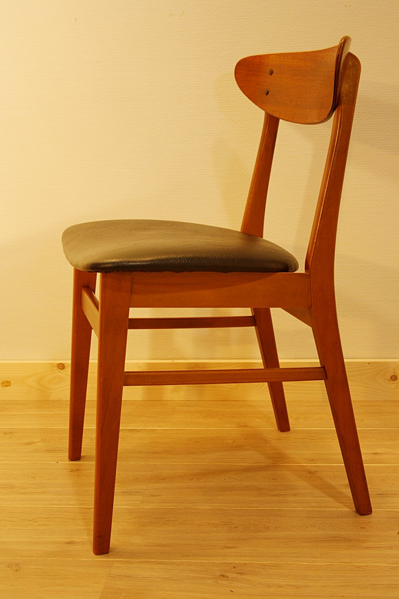 Danish Teak Dining Chair from Farstrup, 1960s for sale at Pamono