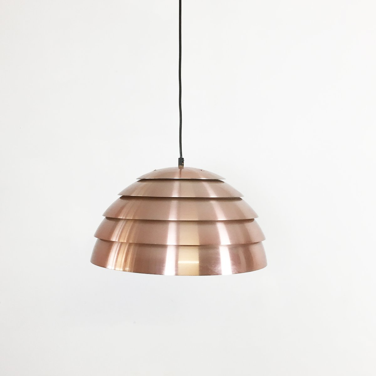 Swedish copper pendant light by hans agne jakobsson for hans agne swedish copper pendant light by hans agne jakobsson for hans agne jakobsson ab markaryd 1960s mozeypictures Image collections