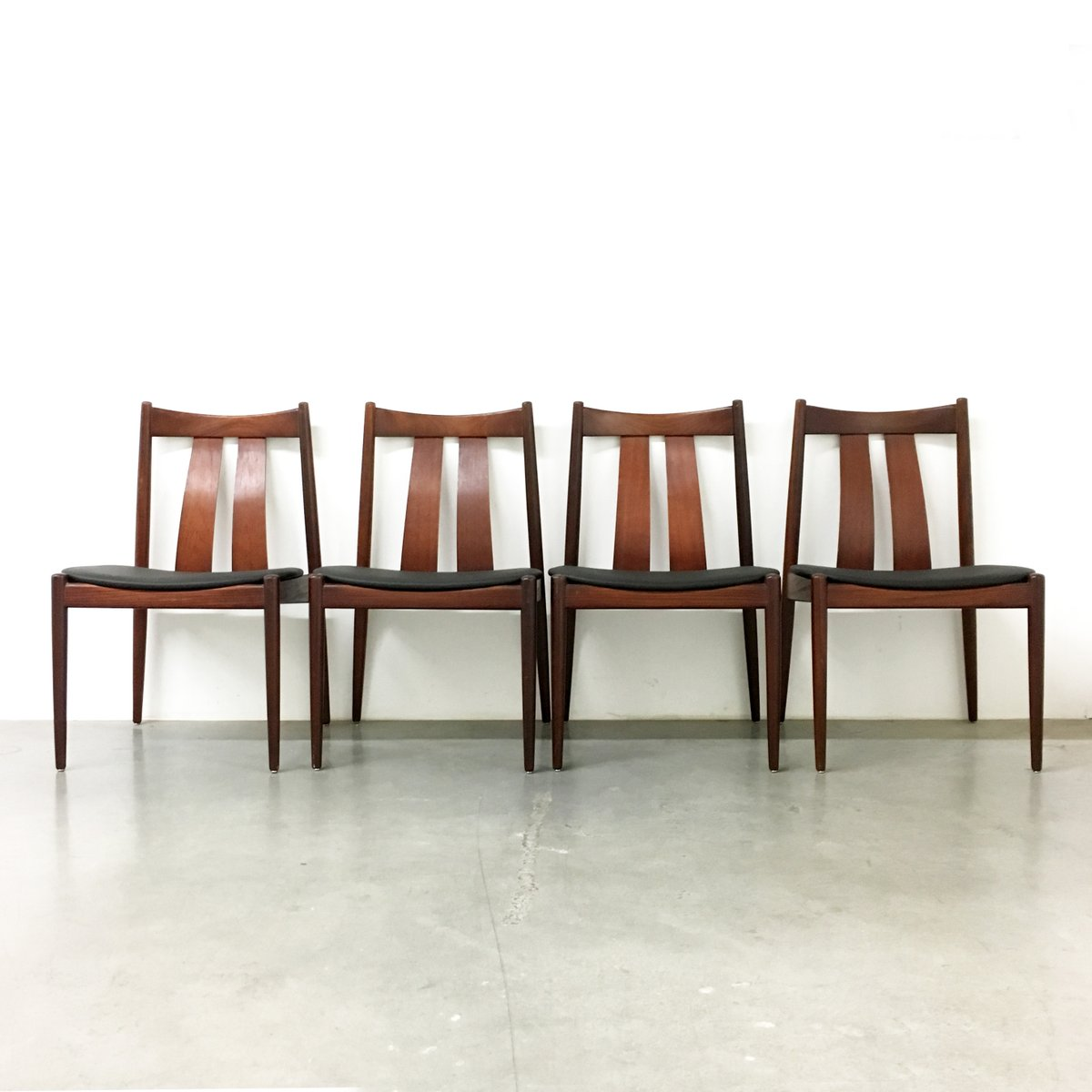 Danish Dining Chairs From Bramin 1960s Set Of 4