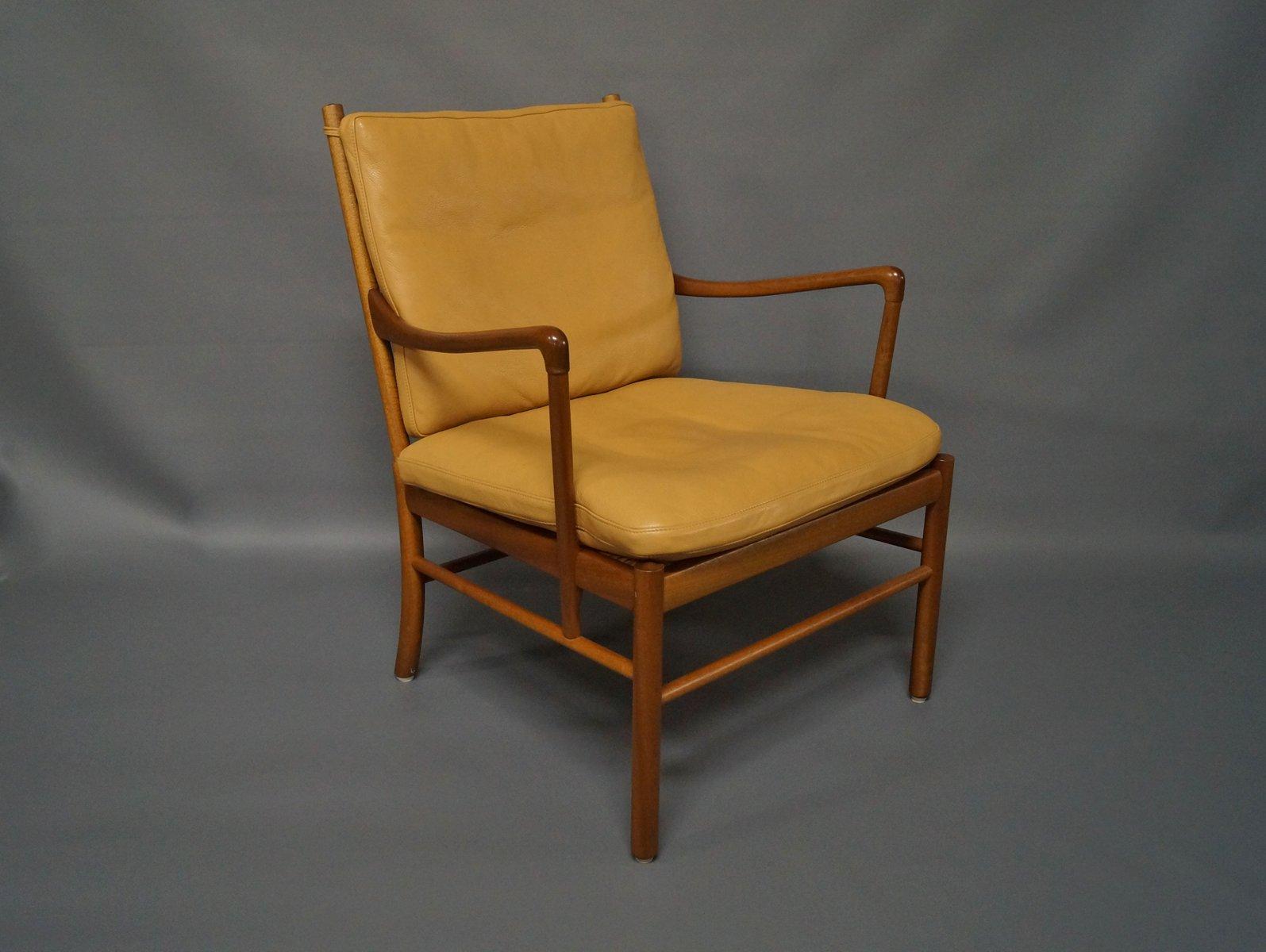 chaise coloniale pj149 pour ole wanscher pour p jeppesen danemark 1960s en vente sur pamono. Black Bedroom Furniture Sets. Home Design Ideas