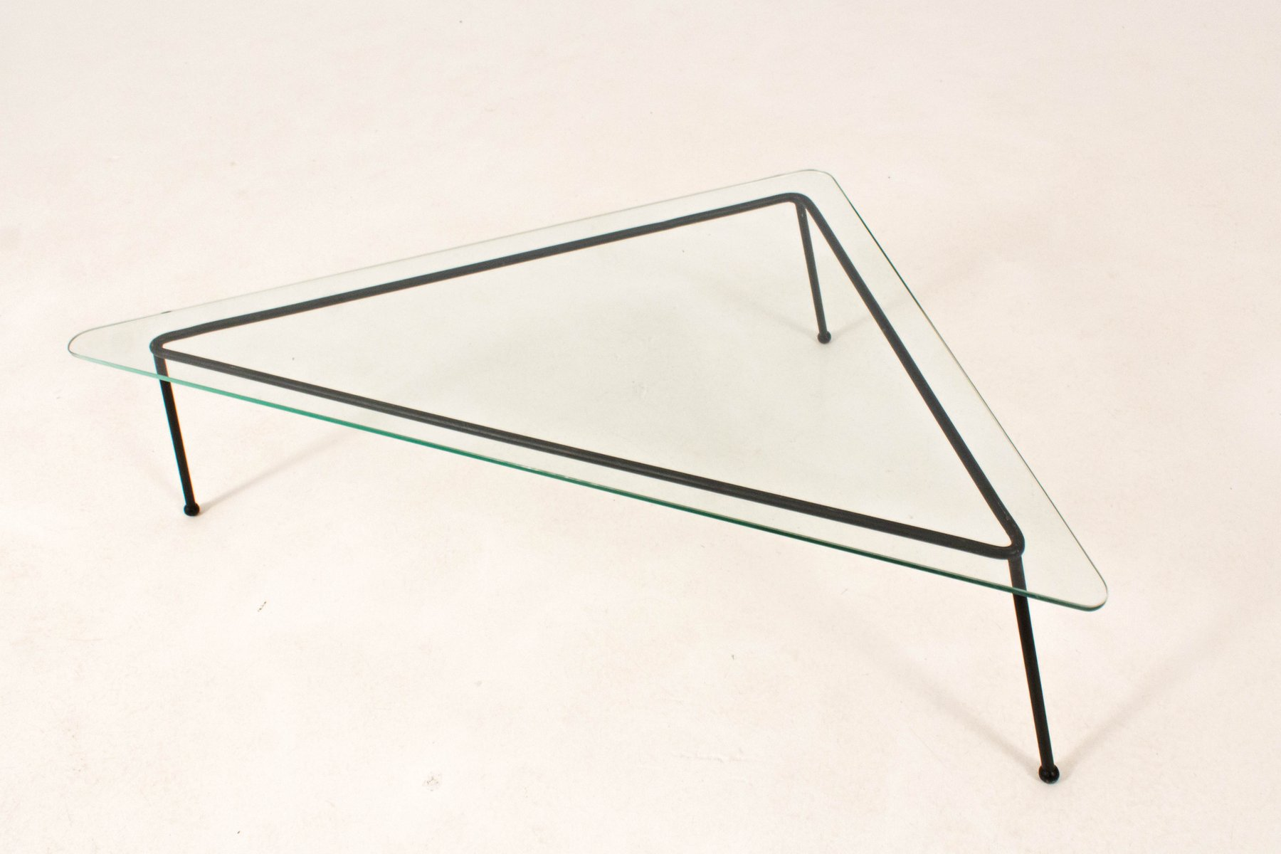 Mid Century Modern Triangular Coffee Table 1960s for sale at Pamono