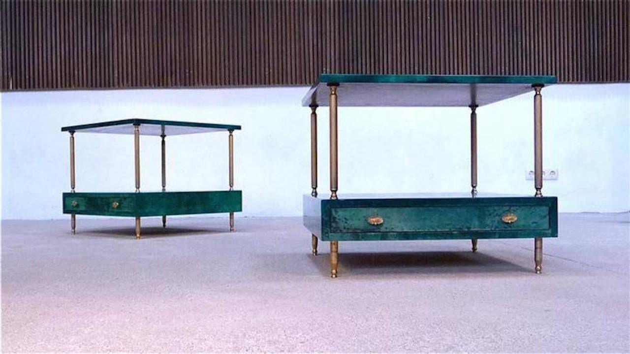 Italian side tables by aldo tura for tura milano 1960s for Design parade milano
