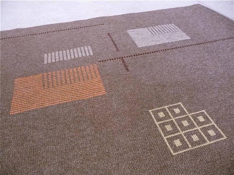 gro er deutscher modernistischer teppich 1950er bei pamono kaufen. Black Bedroom Furniture Sets. Home Design Ideas