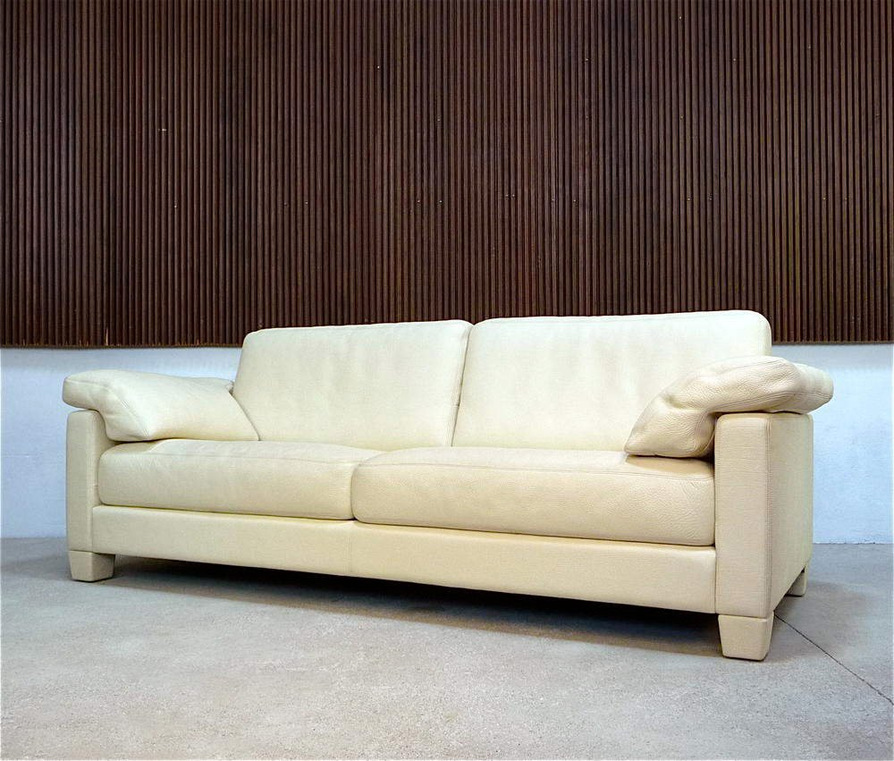 german wk 612 club leather sofa from wk wohnen for sale at pamono. Black Bedroom Furniture Sets. Home Design Ideas
