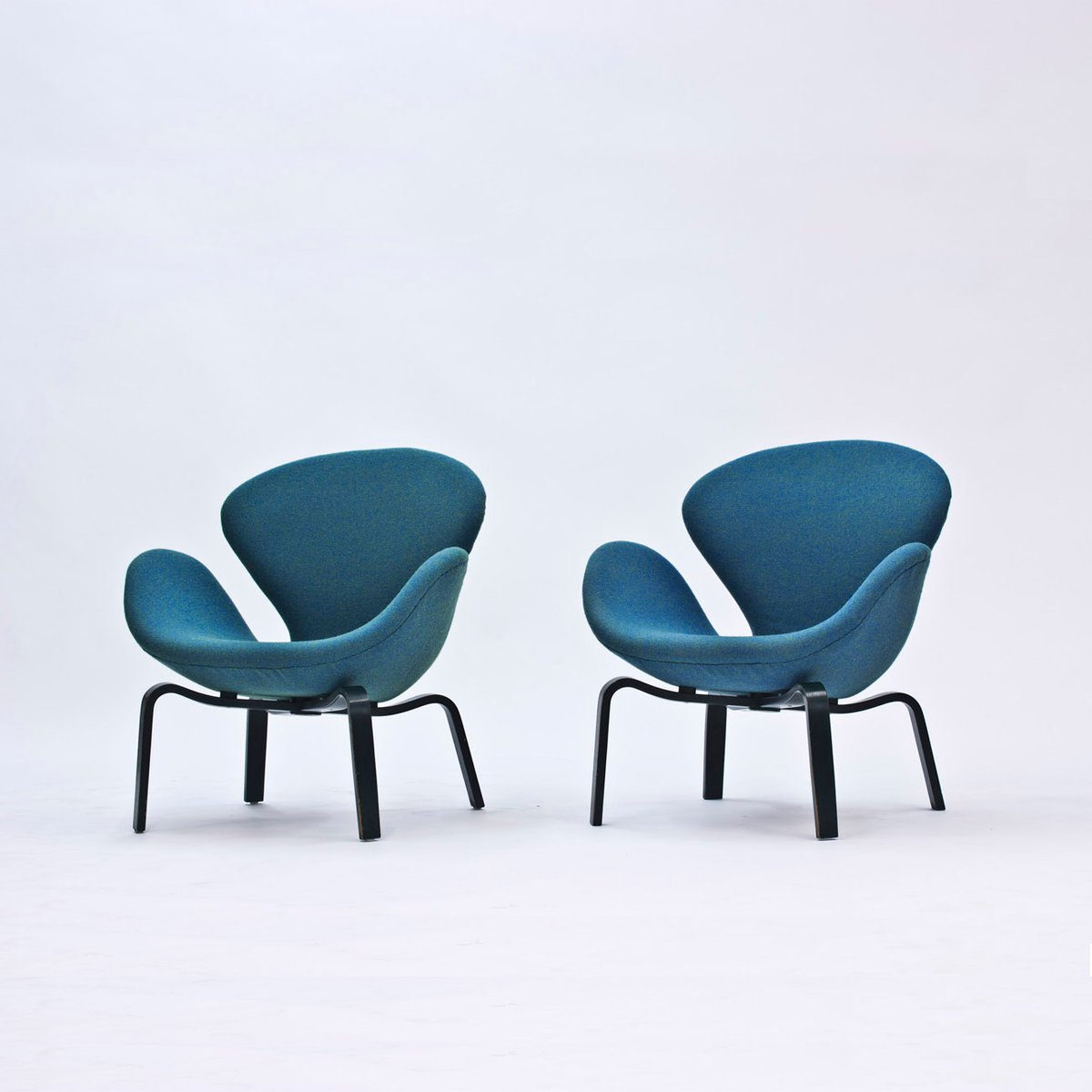 arne jacobsen furniture. Swan Lounge Chairs By Arne Jacobsen For Fritz Hansen, 1969, Set Of 2 Furniture P