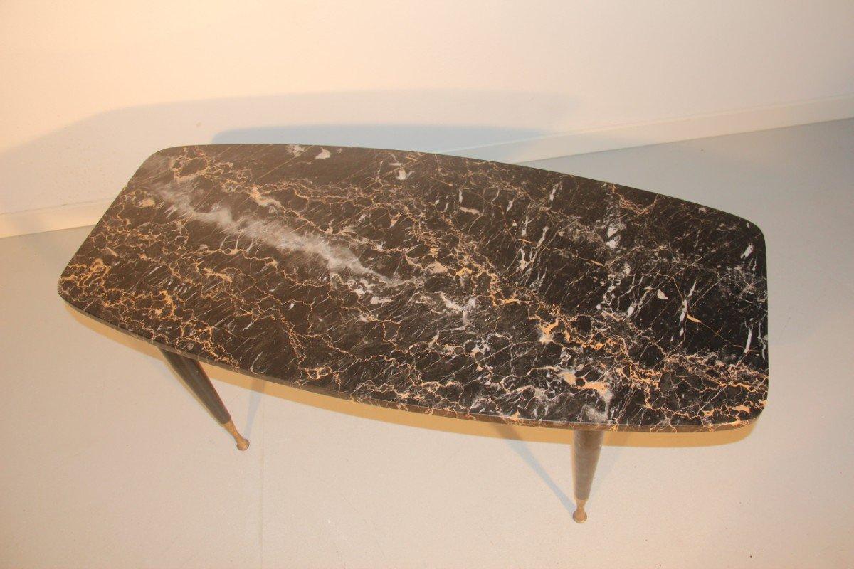 italienischer couchtisch aus marmor messing 1950 bei pamono kaufen. Black Bedroom Furniture Sets. Home Design Ideas