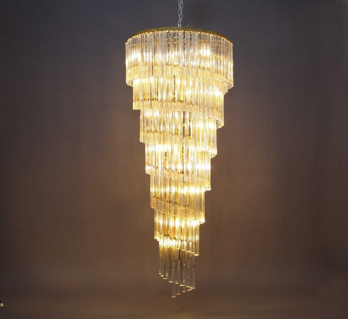 product chandelier lampshade spiral il mosaic handmade lamp