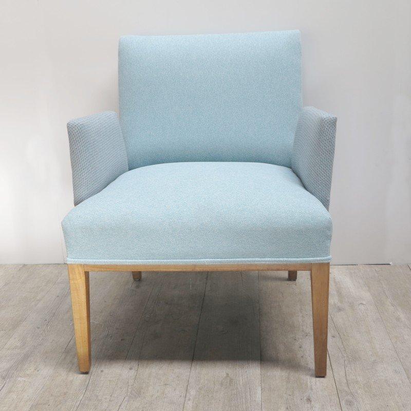 skandinavischer sessel mit freistehenden armlehnen 1950er bei pamono kaufen. Black Bedroom Furniture Sets. Home Design Ideas