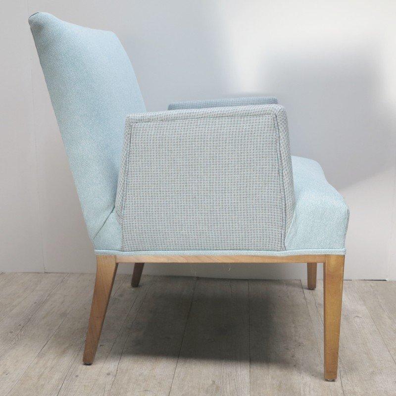 skandinavischer sessel mit freistehenden armlehnen 1950er. Black Bedroom Furniture Sets. Home Design Ideas