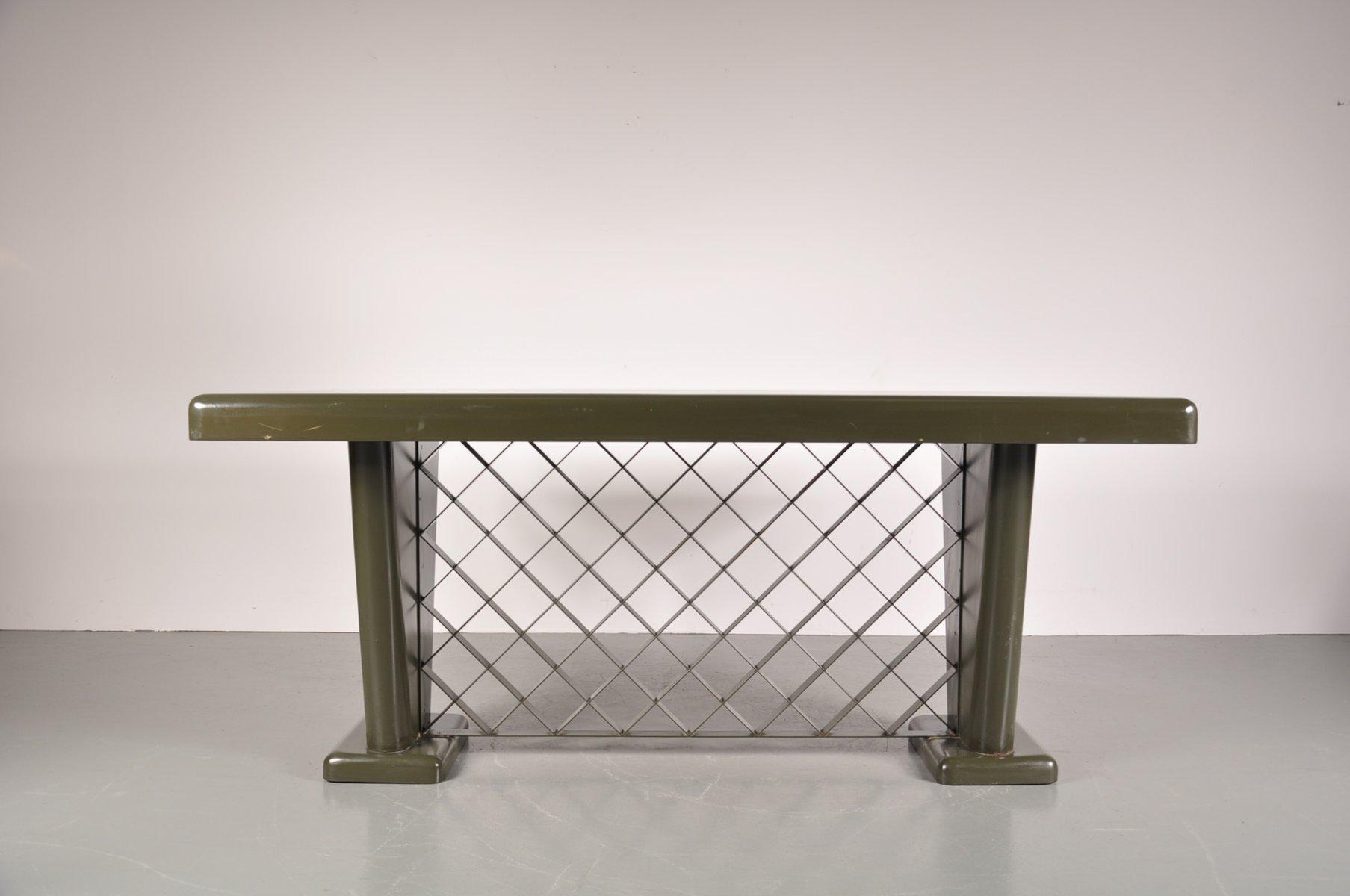 Deutscher art deco metall tisch 1930er bei pamono kaufen for Tisch metall
