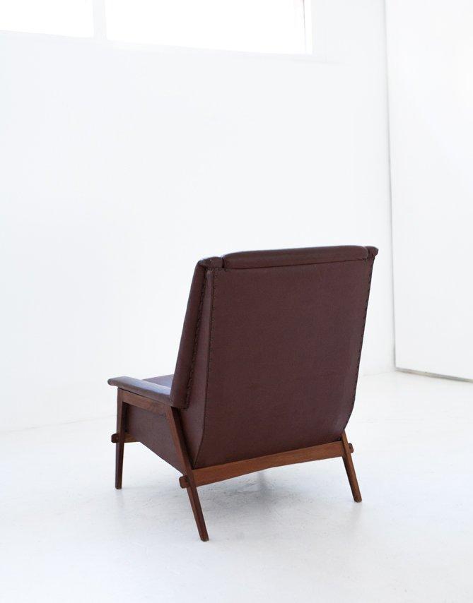 schwedischer mid century sessel aus vinyl und stoff 1950er bei pamono kaufen. Black Bedroom Furniture Sets. Home Design Ideas