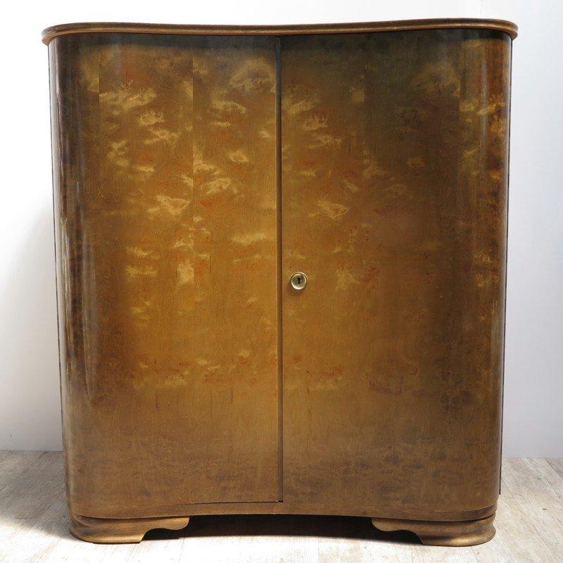 deutsches vintage sideboard mit zwei t ren bei pamono kaufen. Black Bedroom Furniture Sets. Home Design Ideas