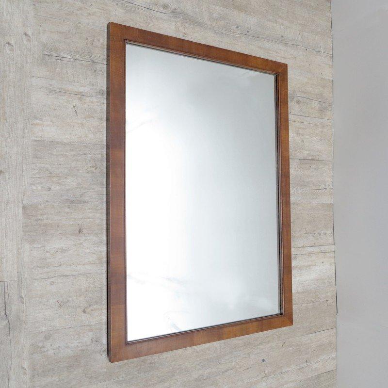 gro er deutscher art deco spiegel bei pamono kaufen. Black Bedroom Furniture Sets. Home Design Ideas
