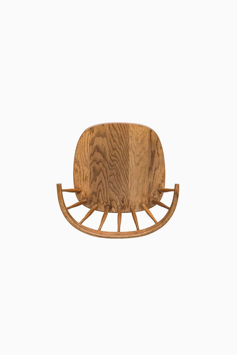 Sessel aus Eichenholz von Yngve Ekström für Stolab bei Pamono kaufen