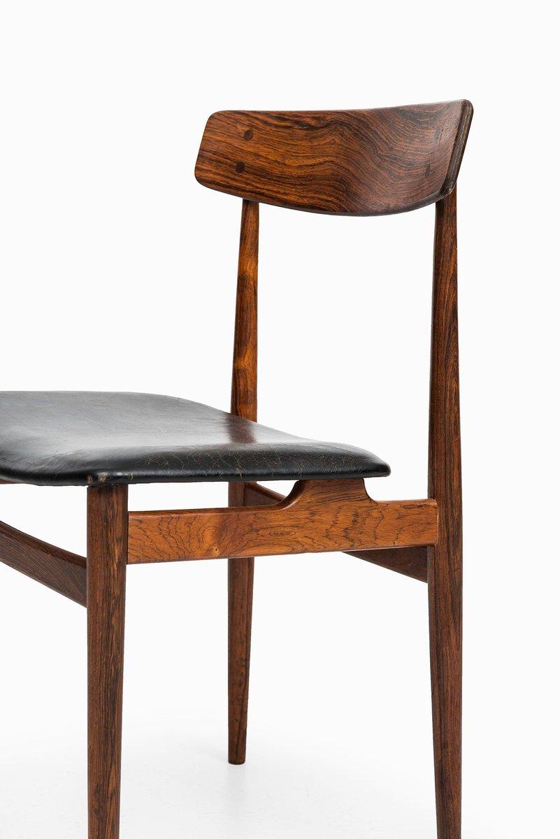 mid century palisander esszimmerst hle 6er set bei pamono. Black Bedroom Furniture Sets. Home Design Ideas