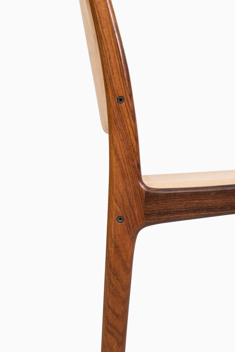 Mid Century Dining Chairs By Johannes Andersen Set Of 8