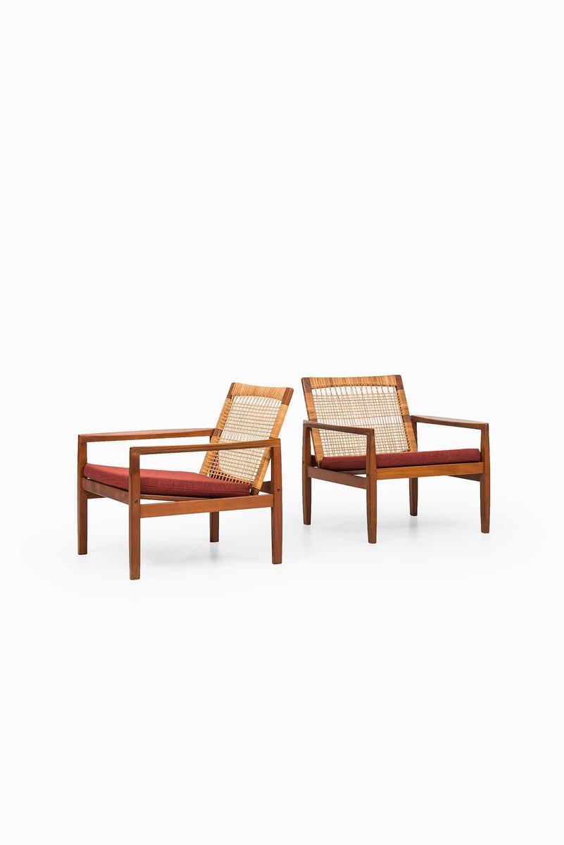Model 519 Easy Chairs By Hans Olsen For Juul Kristensen, Set Of 2