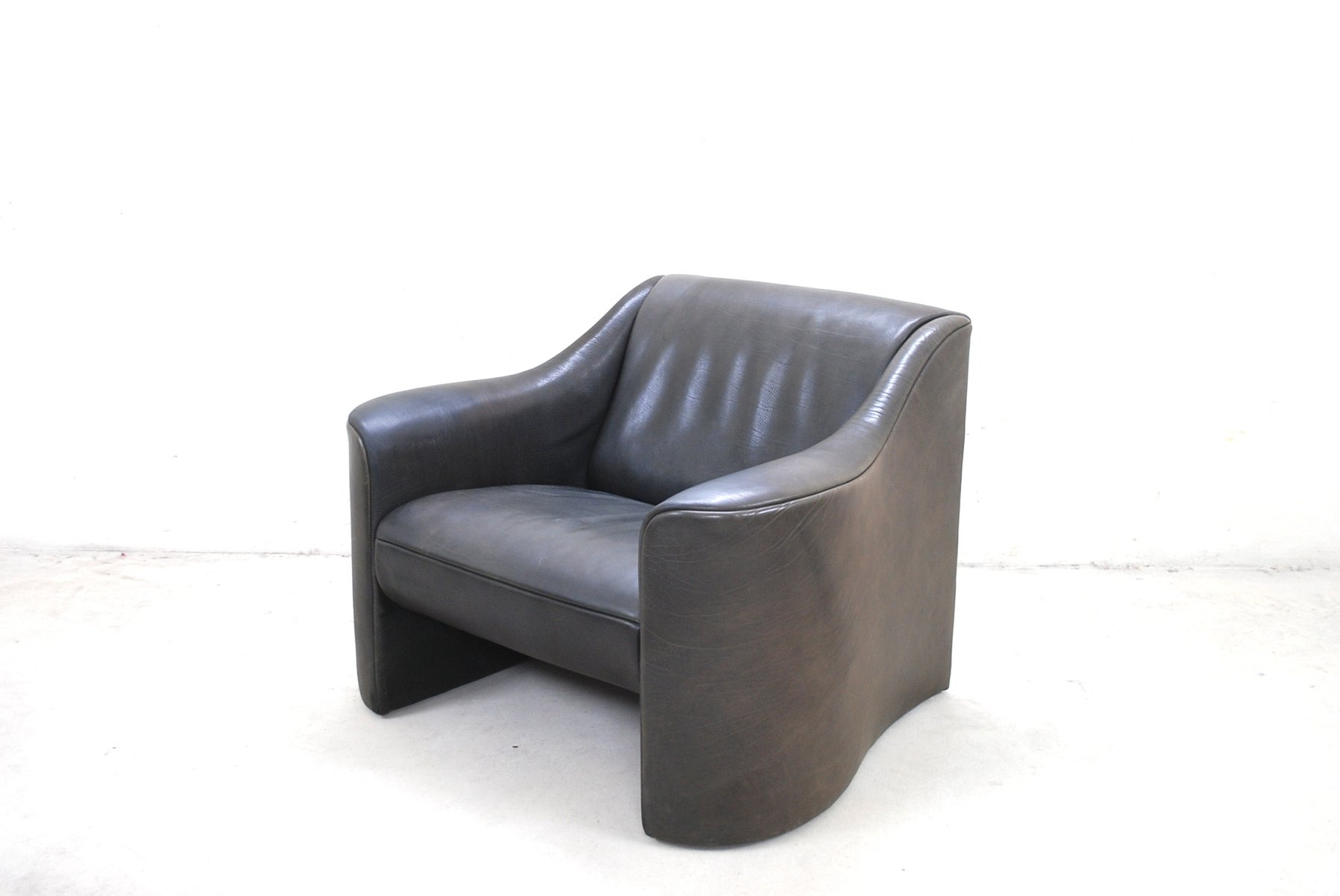 Italian Esquire Leather Armchair Club Chair By Luigi Massoni U0026 Giorgio  Cazzaniga For Matteo Grassi, 1980s