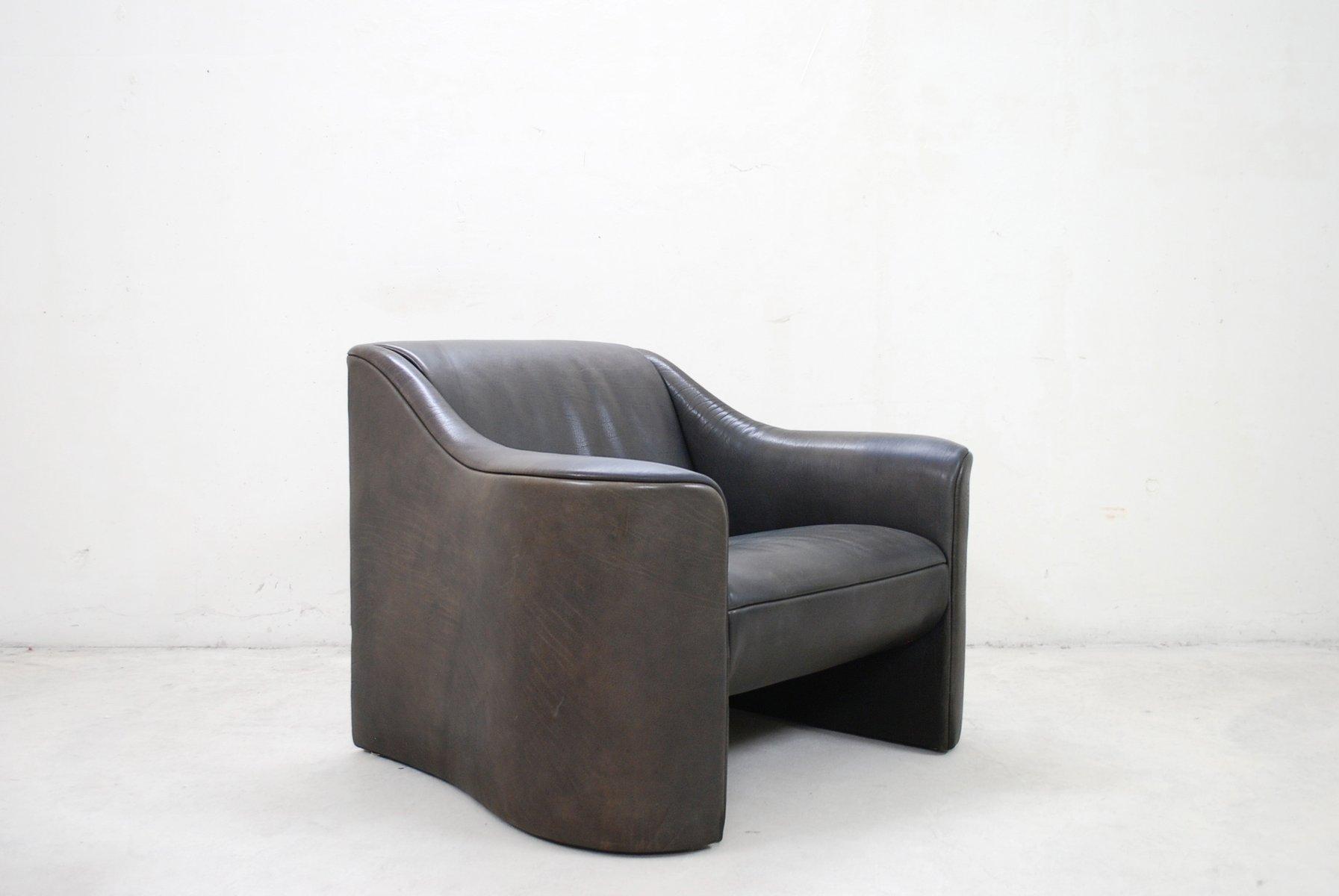 Italian Esquire Leather Armchair Club Chair By Luigi Massoni U0026 Giorgio  Cazzaniga For Matteo Grassi, 1980s