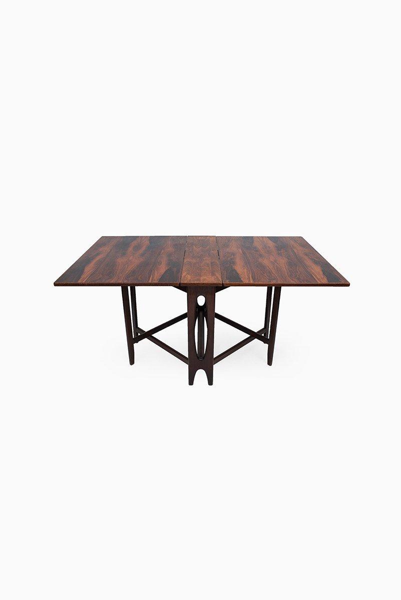 modell 4 palisander esstisch von bendt winge f r kleppes bei pamono kaufen. Black Bedroom Furniture Sets. Home Design Ideas