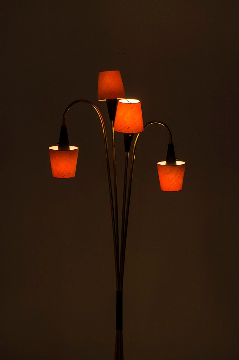 Retro Swedish Floor Lamp from AB Armaturhantverk, 1950s for sale at ...