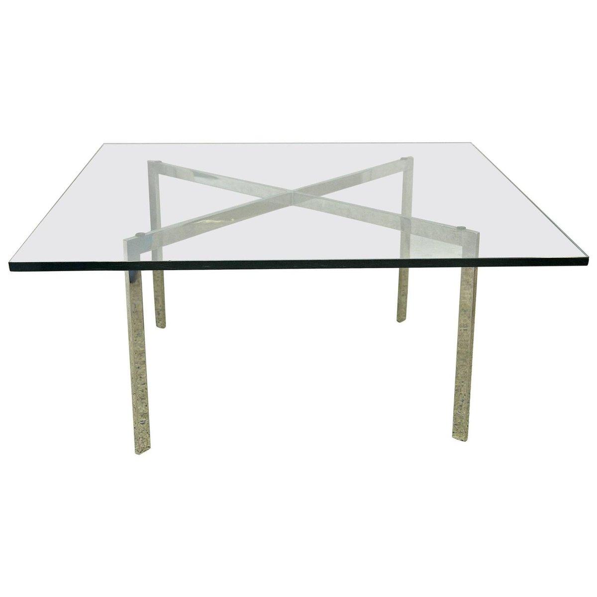 Barcelona Tisch Von Mies Van Der Rohe Für Knoll 1960er Bei Pamono