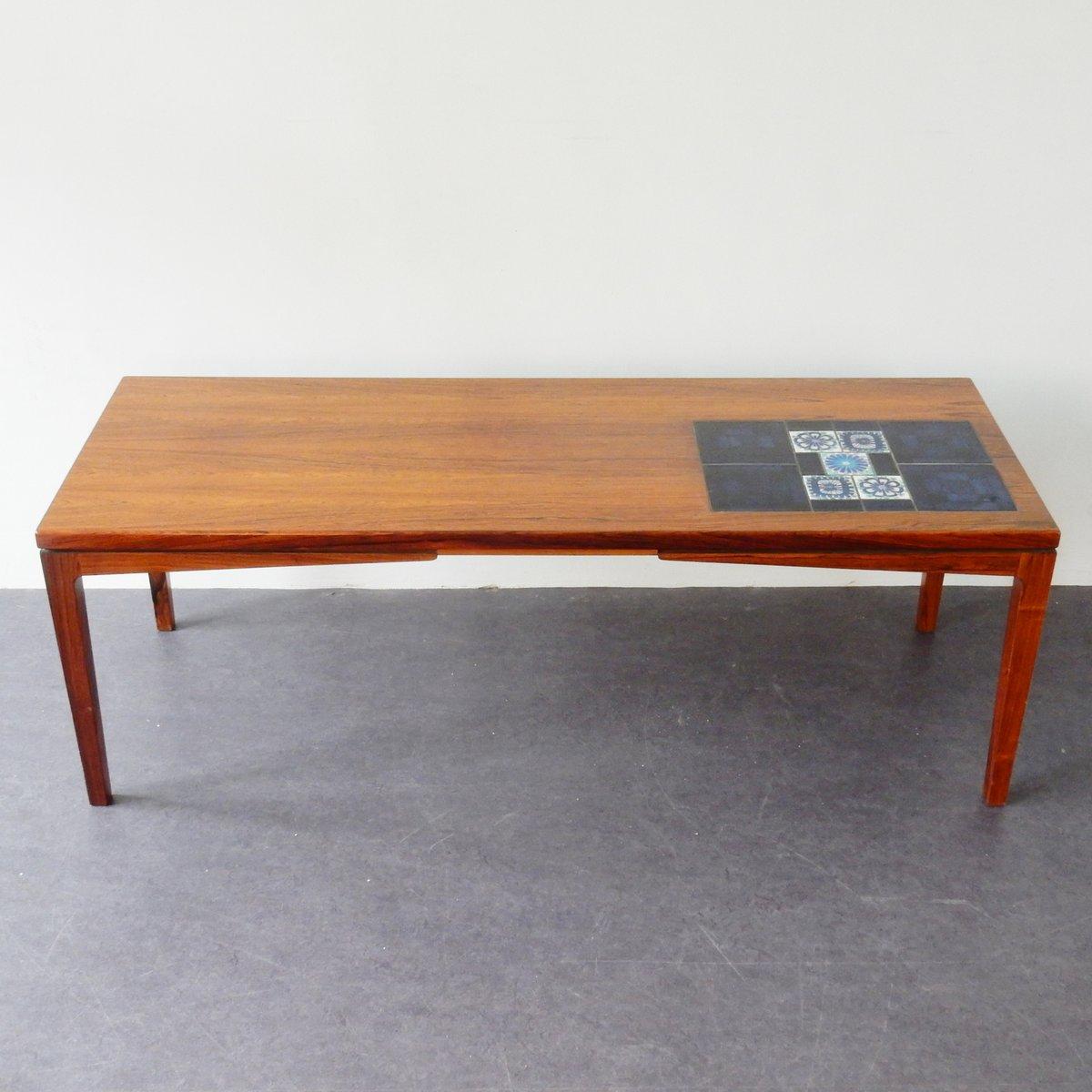 mid century couchtisch mit kacheln bei pamono kaufen. Black Bedroom Furniture Sets. Home Design Ideas