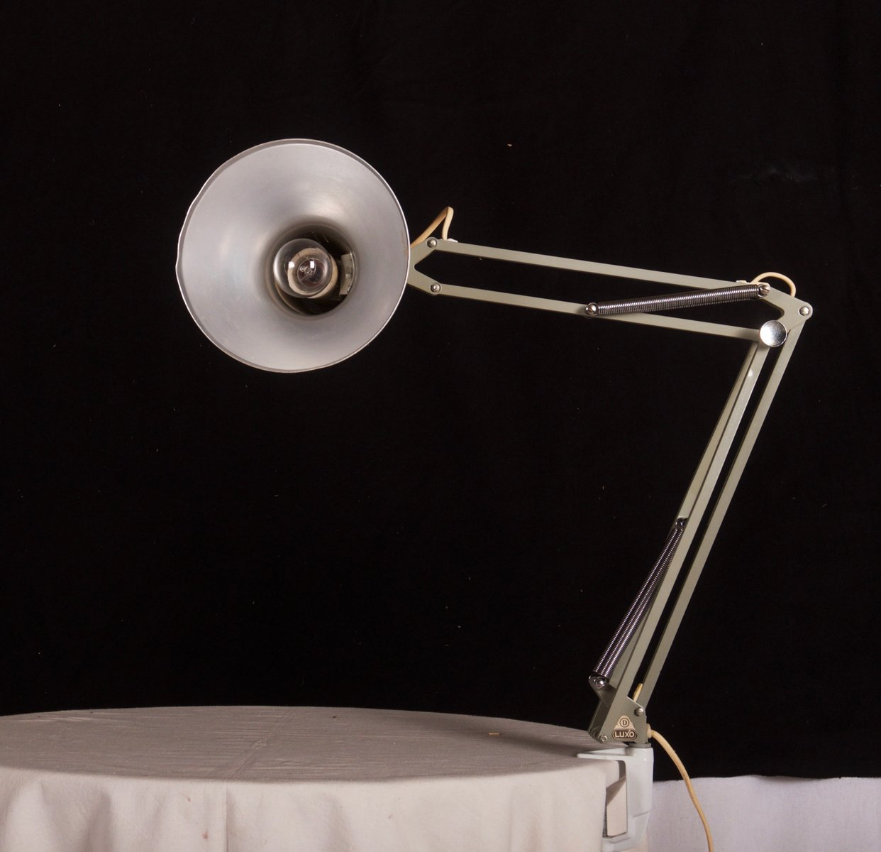 Small Grey Desk Lamp From Luxo For At Pamono