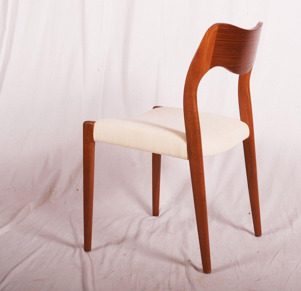 Chaises de salle manger mod le 71 par niels otto m ller for Modeles chaises salle manger