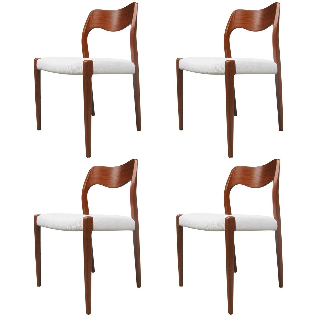 Chaises de salle manger mod le 71 par niels otto m ller for Modele de chaise salle a manger