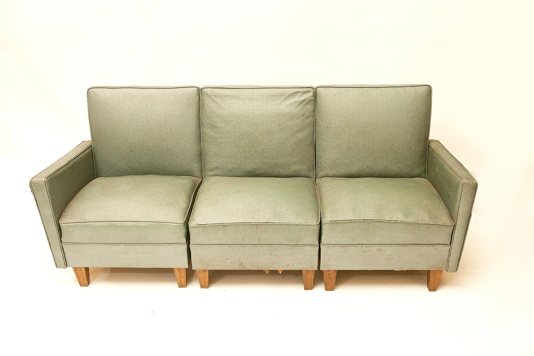 modulares sofa von joaquim tenreiro 1950er bei pamono kaufen. Black Bedroom Furniture Sets. Home Design Ideas