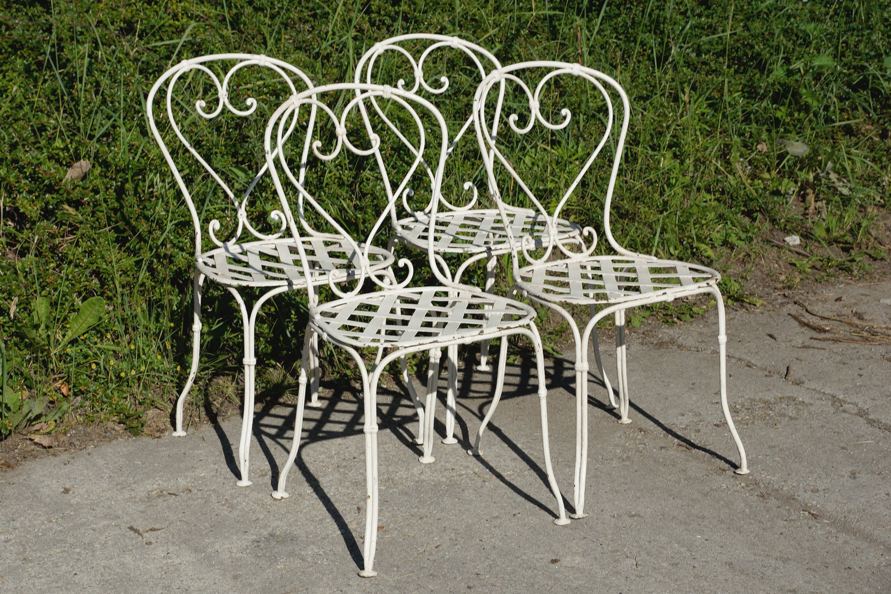 garden iron chairs garden designs