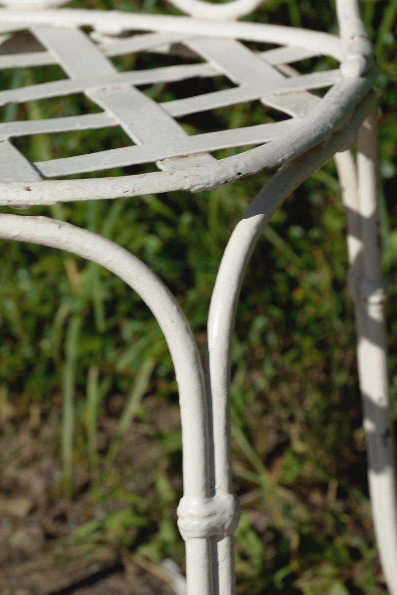 franz sische gartenst hle aus schmiedeeisen 1860er 4er set bei pamono kaufen. Black Bedroom Furniture Sets. Home Design Ideas