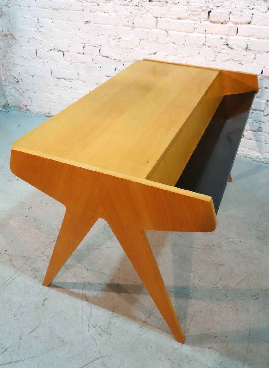 schreibtisch von helmut magg f r wk m bel 1957 bei pamono. Black Bedroom Furniture Sets. Home Design Ideas