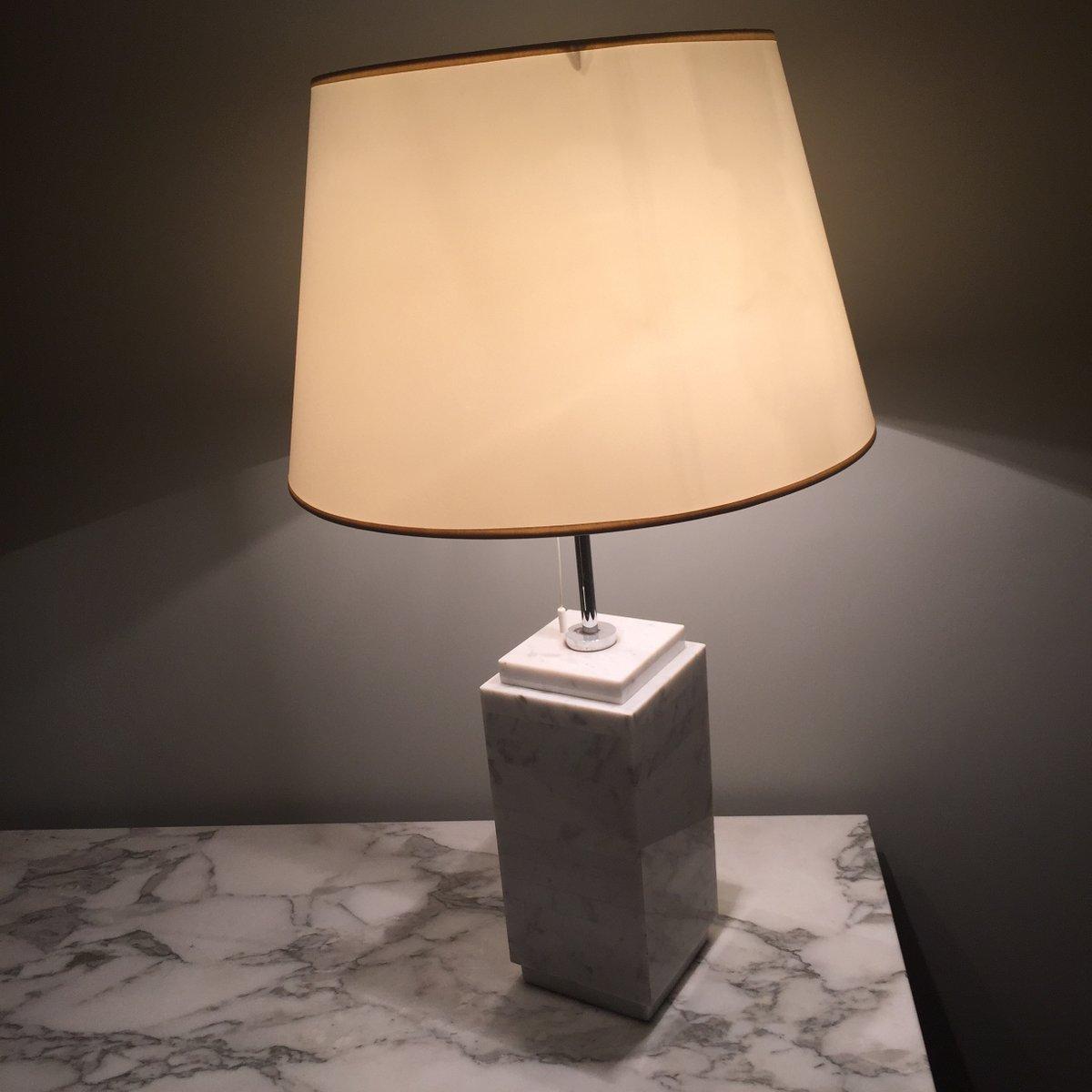 Höhe Lampe Kücheninsel ~ weiße carrara marmor lampe von knoll bei pamono kaufen