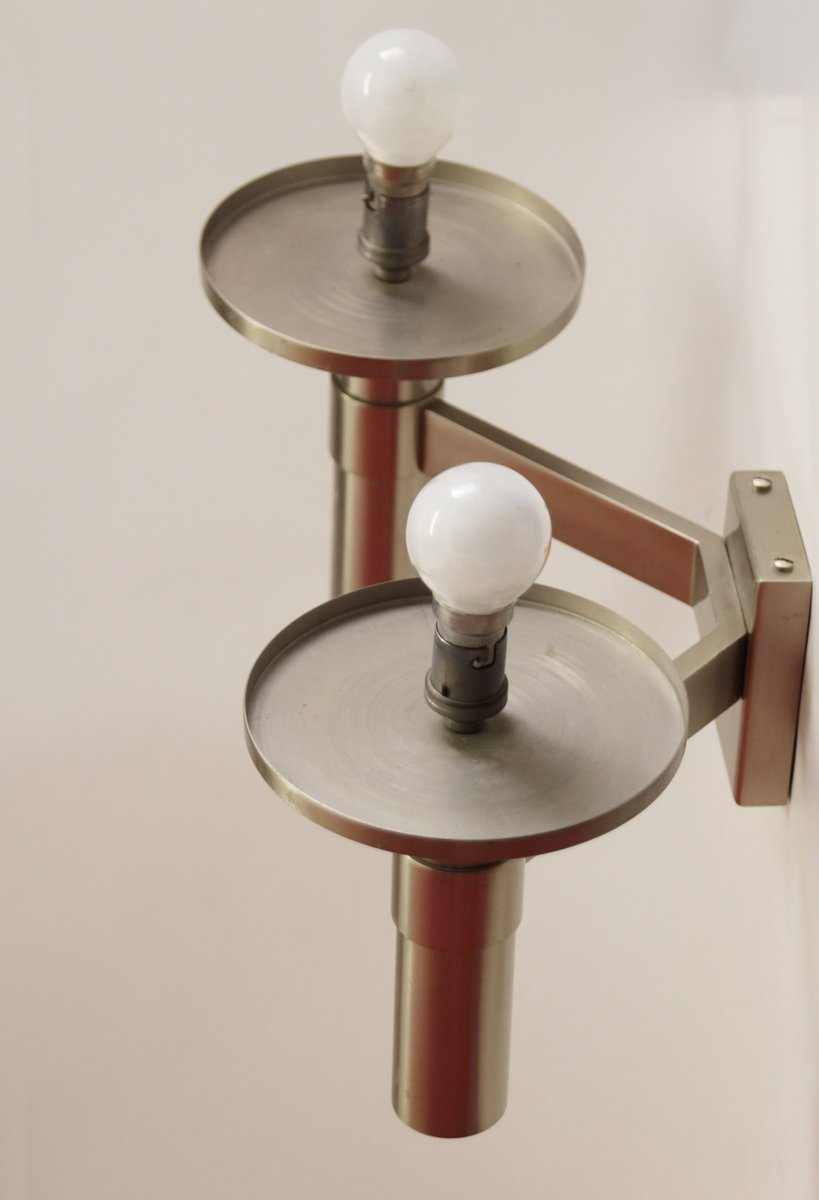 art deco wandlampe von jean perzel 1940er bei pamono kaufen. Black Bedroom Furniture Sets. Home Design Ideas