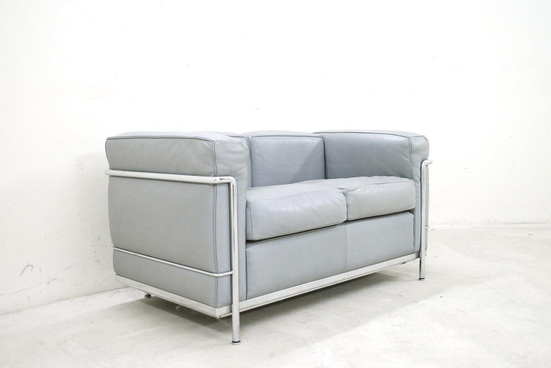 Canapé LC En Cuir Par Le Corbusier Pour Cassina En Vente Sur - Canape cuir le corbusier