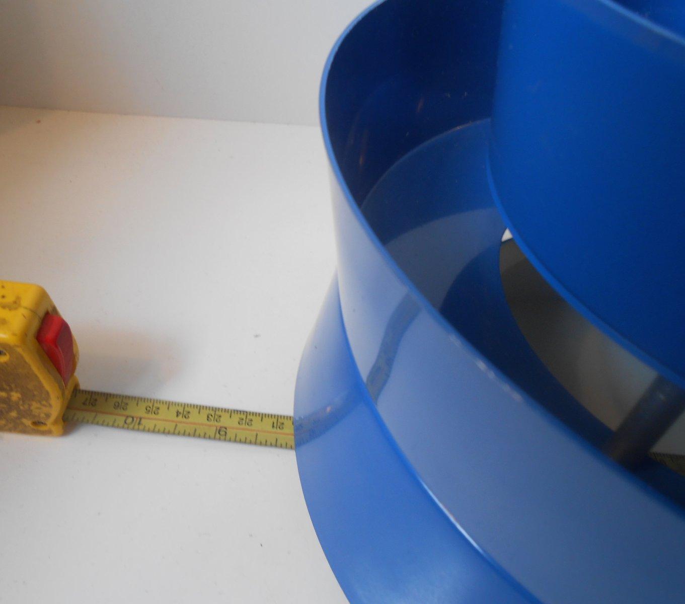 blaue schwedische trava h ngelampe von carl thore f r. Black Bedroom Furniture Sets. Home Design Ideas
