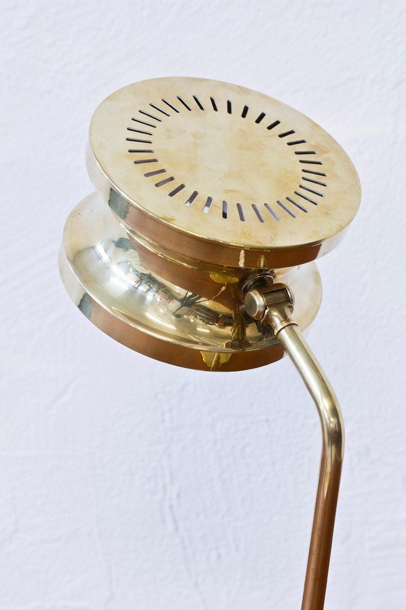 schwedische tischlampe aus messing von tyringe. Black Bedroom Furniture Sets. Home Design Ideas