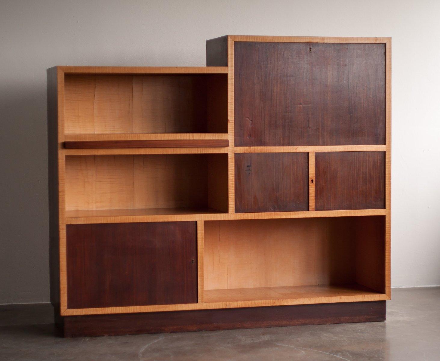 niederl ndischer modernistischer vintage schrank 1930er. Black Bedroom Furniture Sets. Home Design Ideas