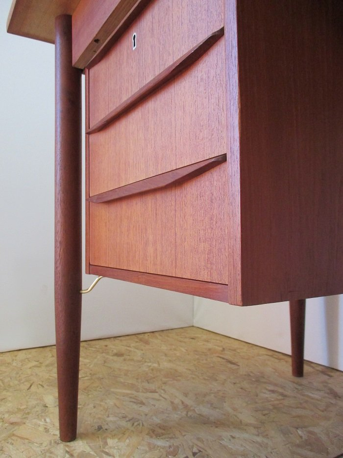 Danish Desk by Gunnar Nielsen Tibergaard, 1960s for sale at Pamono