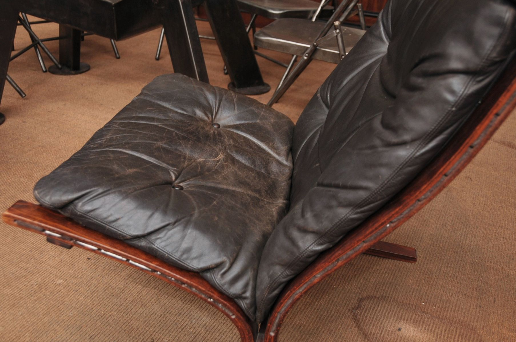 Siesta Chair And Ottoman By Ingmar Relling For Westnofa