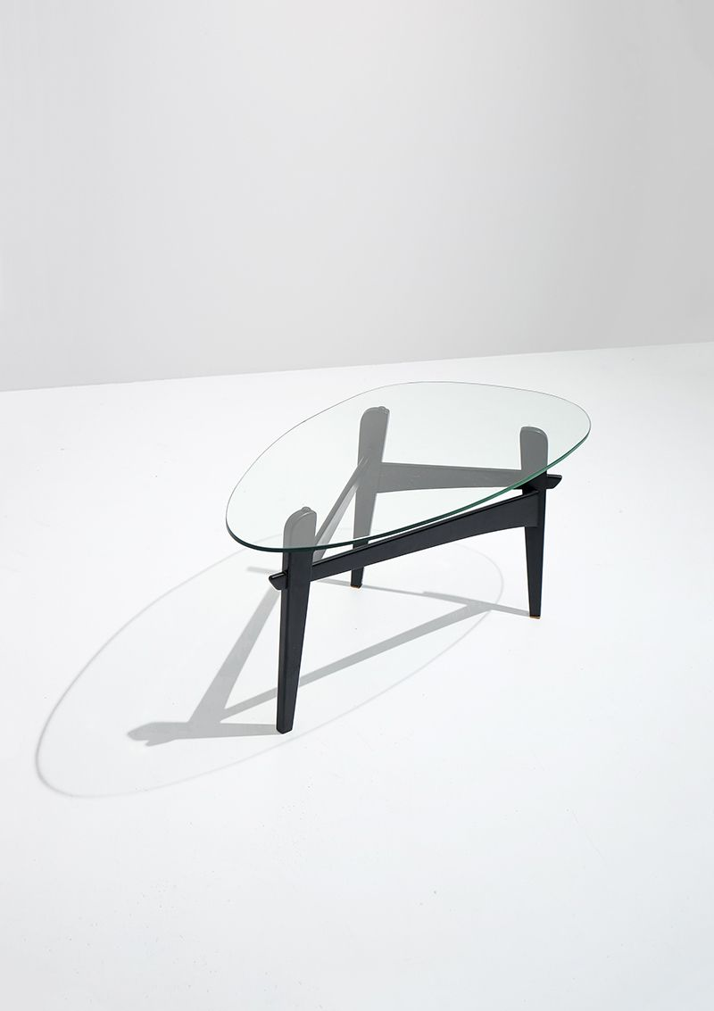 Osaka Coffee Table by Emiel Veranneman 1950s for sale at Pamono